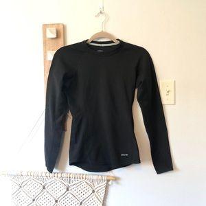 Patagonia Black Long Sleeve Pullover Top